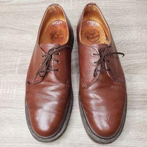 Dr Martens pebble leather lace up oxfords